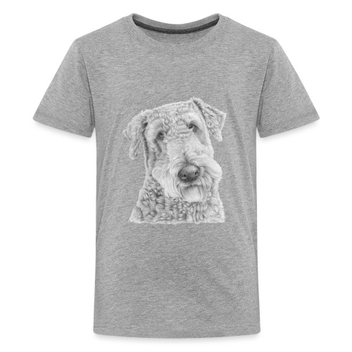 airedale terrier - Teenager premium T-shirt