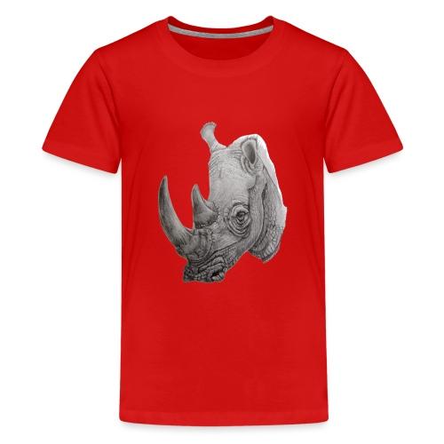 rhino - Teenager premium T-shirt