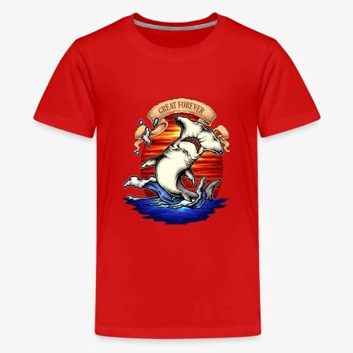 König des Ozeans - Teenager Premium T-Shirt