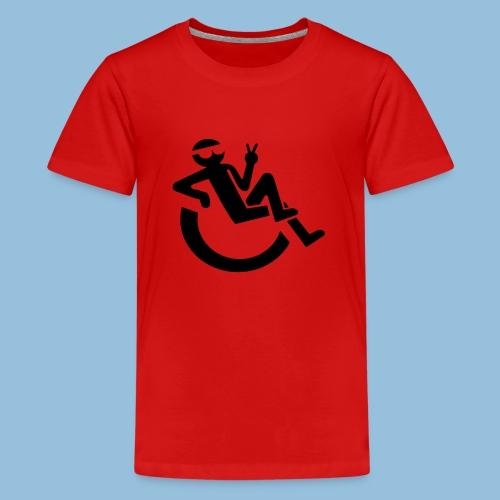 Happyweelchair1 - Teenager Premium T-shirt