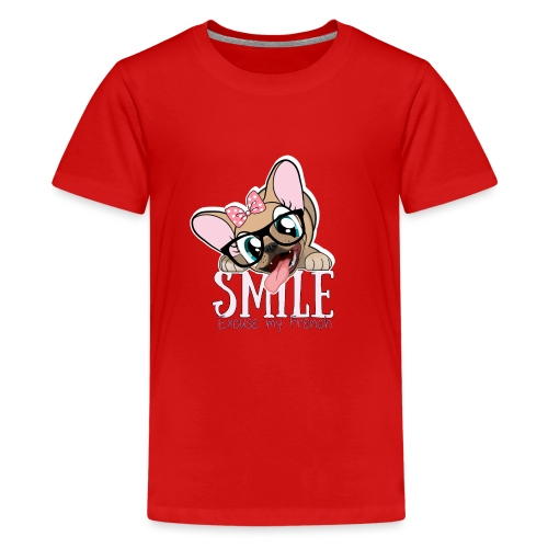 SMILE NAYA - T-shirt Premium Ado