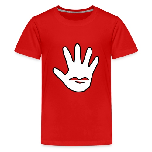 Talk to the Hand - Premium T-skjorte for tenåringer