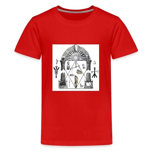 A foot Littler - Premium-T-shirt tonåring
