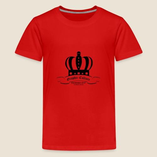 Krone Graphic-Culture - Teenager Premium T-Shirt