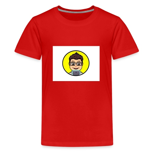 Youtube kanaal icon zonder naam - Teenager Premium T-shirt