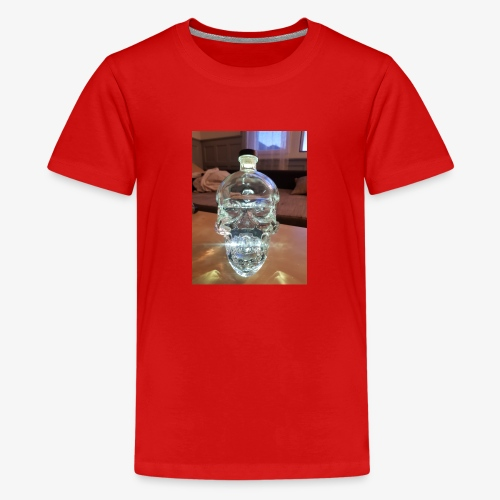 Crystel Head - Teenager Premium T-Shirt