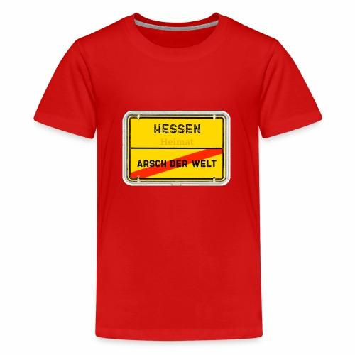 Hessen Heimat - Teenager Premium T-Shirt