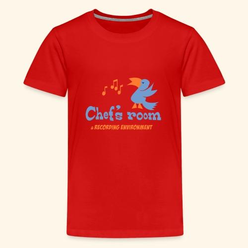 chefs room - Teinien premium t-paita
