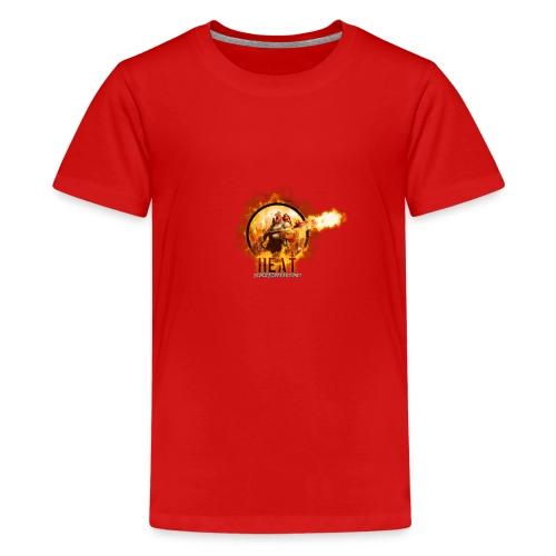 Heat 2019 - Premium T-skjorte for tenåringer
