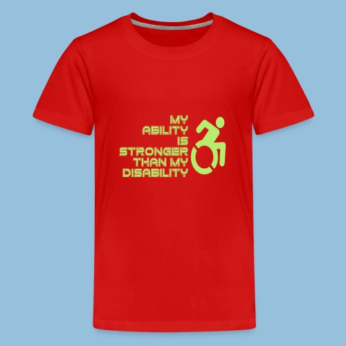 Ability1 - Teenager Premium T-shirt