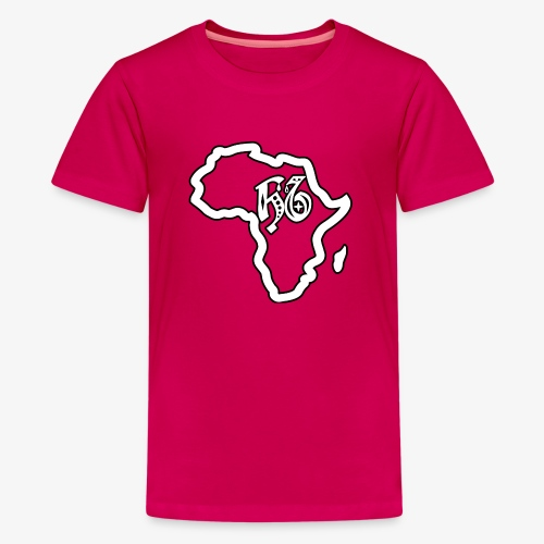 afrika pictogram - Teenager Premium T-shirt