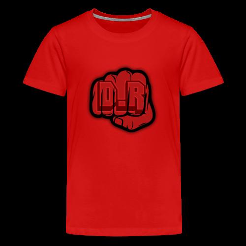DigitalRelic Big Fist Logo - Premium-T-shirt tonåring
