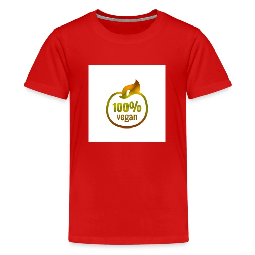 100% vegan - T-shirt Premium Ado