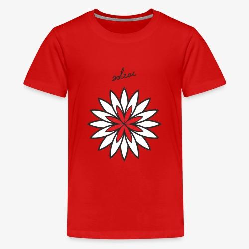 SOLRAC Central Red - Camiseta premium adolescente