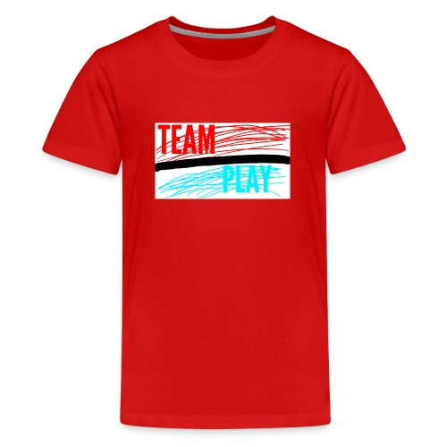 TEAM PLAY - Teenage Premium T-Shirt