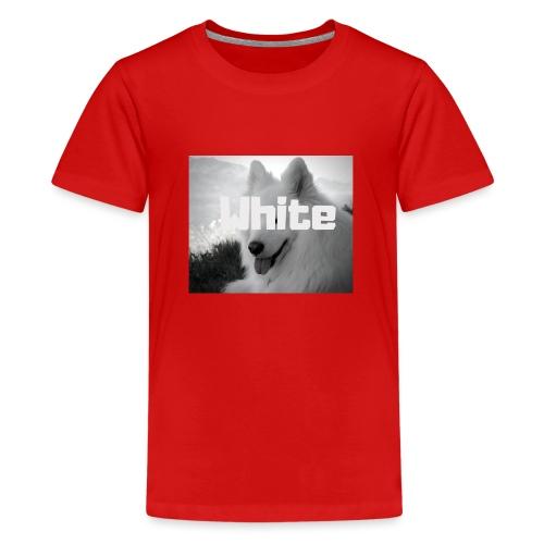 +++ WHITE DOG GESCHENKIDEE +++ - Teenager Premium T-Shirt