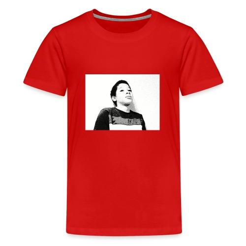 Othniel vlogs - Teenage Premium T-Shirt