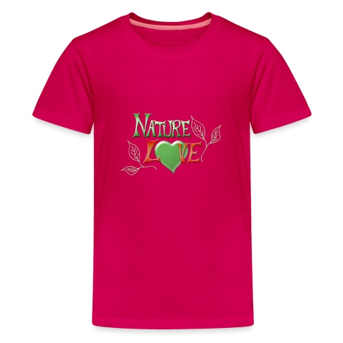 Nature Love - Teenager Premium T-Shirt