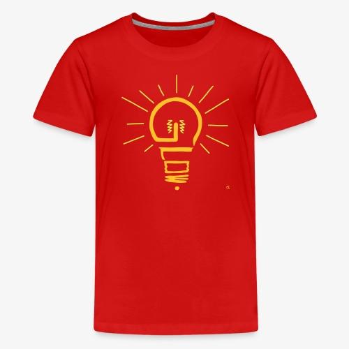 Glow - Teenager Premium T-Shirt