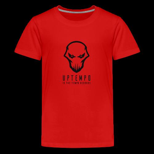 Uptempo Records Black - Teenager Premium T-shirt