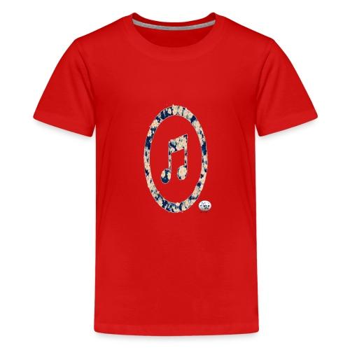 MusicFlower - Camiseta premium adolescente