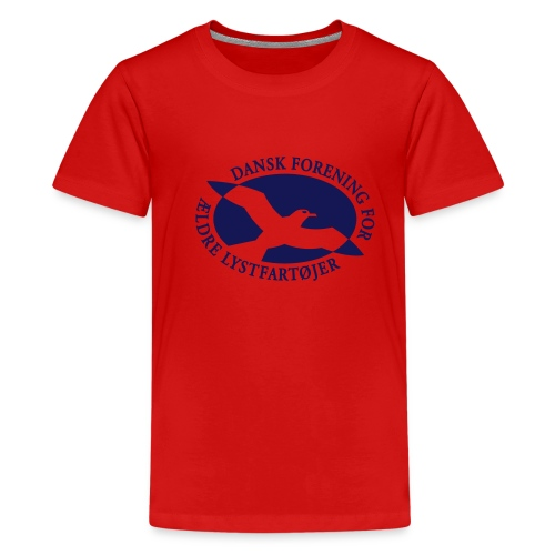 logo vector - Teenager premium T-shirt