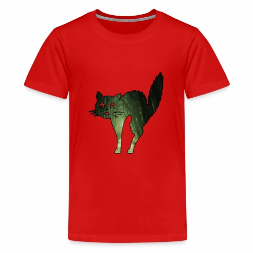 Le chat de la Peur - J'peux pas j'suis un Chat - T-shirt Premium Ado