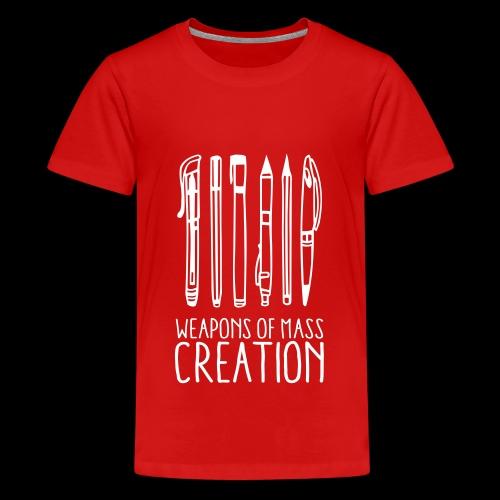 Weapons of mass creation (1c) - T-shirt Premium Ado