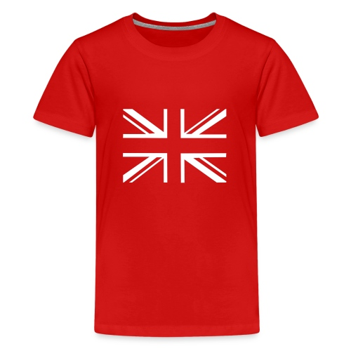 ukflagsmlWhite - Teenage Premium T-Shirt