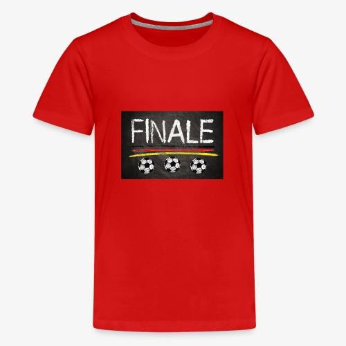 Finale Deutschland - Teenager Premium T-Shirt