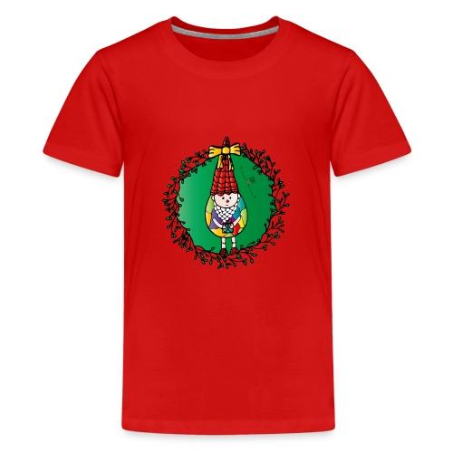 Weihnachtswichtel - Teenager Premium T-Shirt