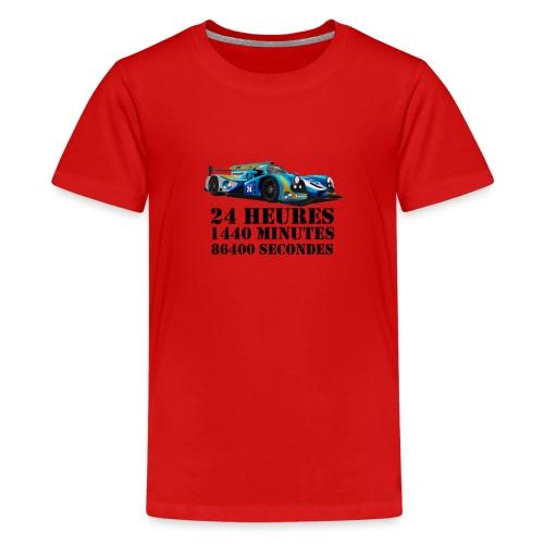 24 Heures - T-shirt Premium Ado