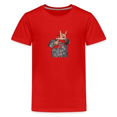 1140 Wien Bande - Teenager Premium T-Shirt