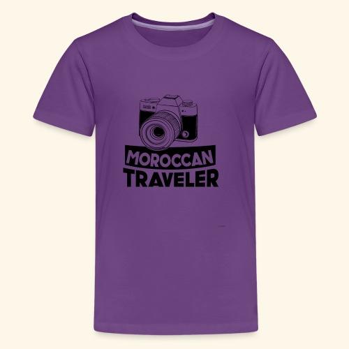 Moroccan Traveler - T-shirt Premium Ado