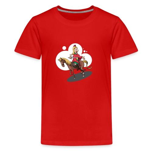 Sankt Martin auf dem Pferd - Teenager Premium T-Shirt