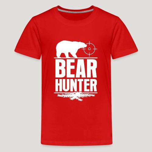 Jäger Shirt Bären Jäger - Bear Hunter Jagd Wild - Teenager Premium T-Shirt