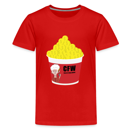 FIRED WIN - Premium-T-shirt tonåring