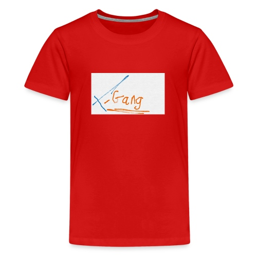 t gang logo - Teenage Premium T-Shirt