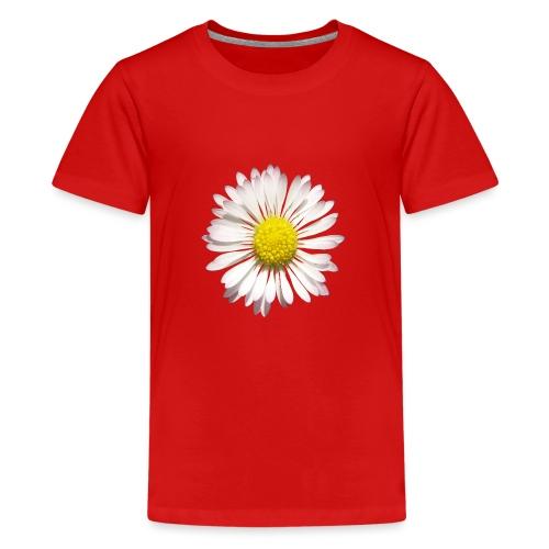 TIAN GREEN Garten - Gänse Blümchen - Teenager Premium T-Shirt