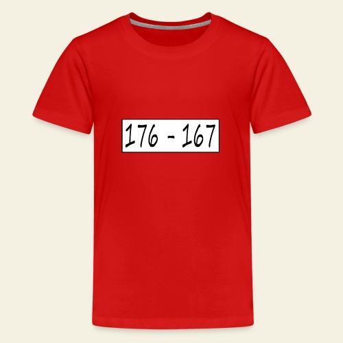 176167 - Teenager premium T-shirt
