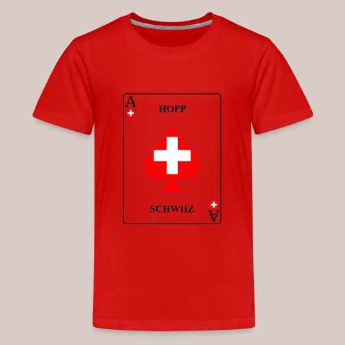 Schweiz - Teenager Premium T-Shirt