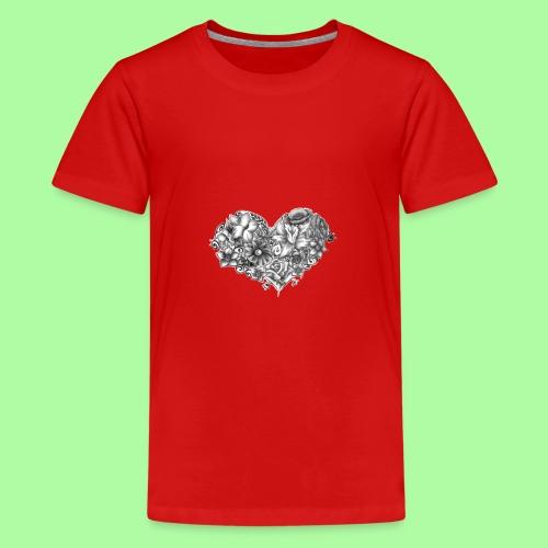 rock delicacy - Maglietta Premium per ragazzi