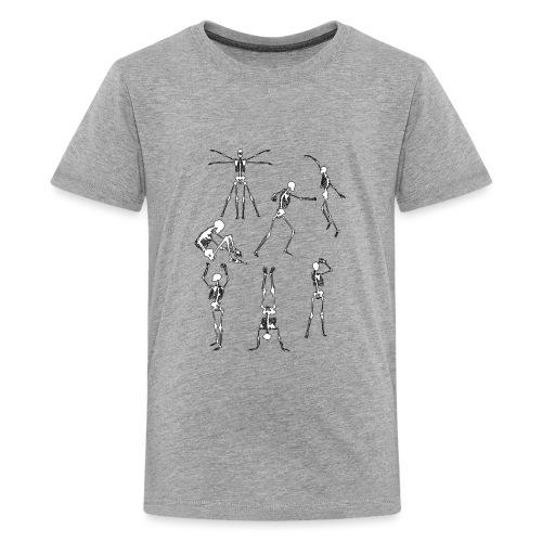 Skulls - Teinien premium t-paita
