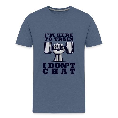 Train Chat - Teinien premium t-paita