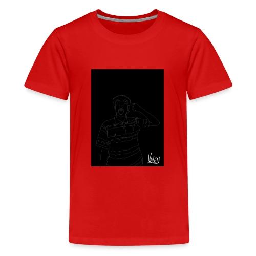 BlancoYnegro - Camiseta premium adolescente