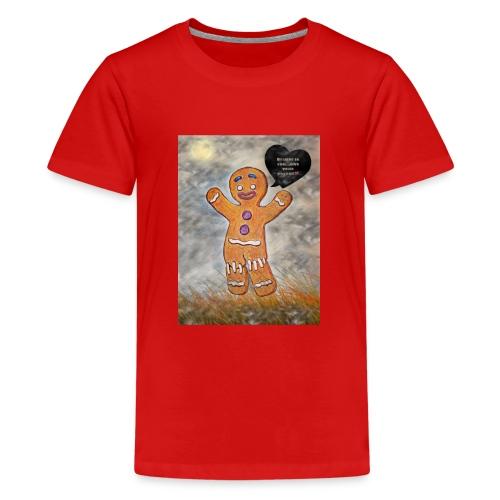 Petit biscuit pour veiller sur vos enfants ☺ - T-shirt Premium Ado