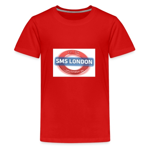 SMS London logo - Teenager Premium T-shirt
