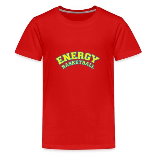 eco logo energy basketball giallo - Maglietta Premium per ragazzi