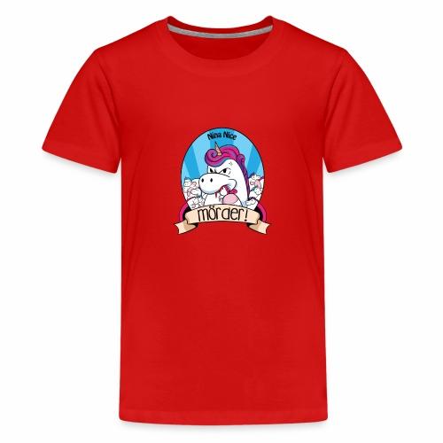 Murder Unicorn - Teenager Premium T-Shirt