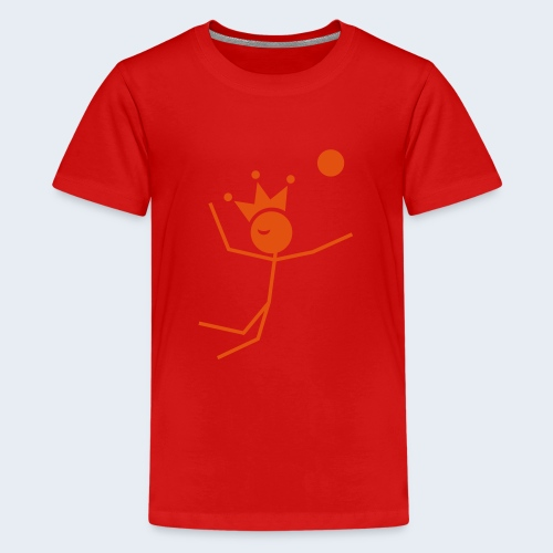 Volleybalkoning - Teenager Premium T-shirt